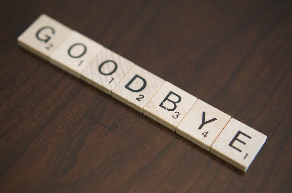 Goodbye with Caveats